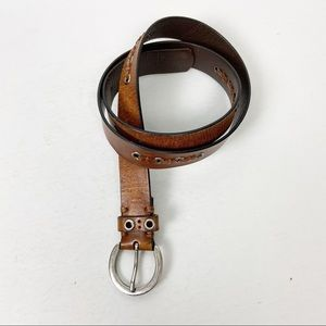 ROLF'S Brown Leather Belt